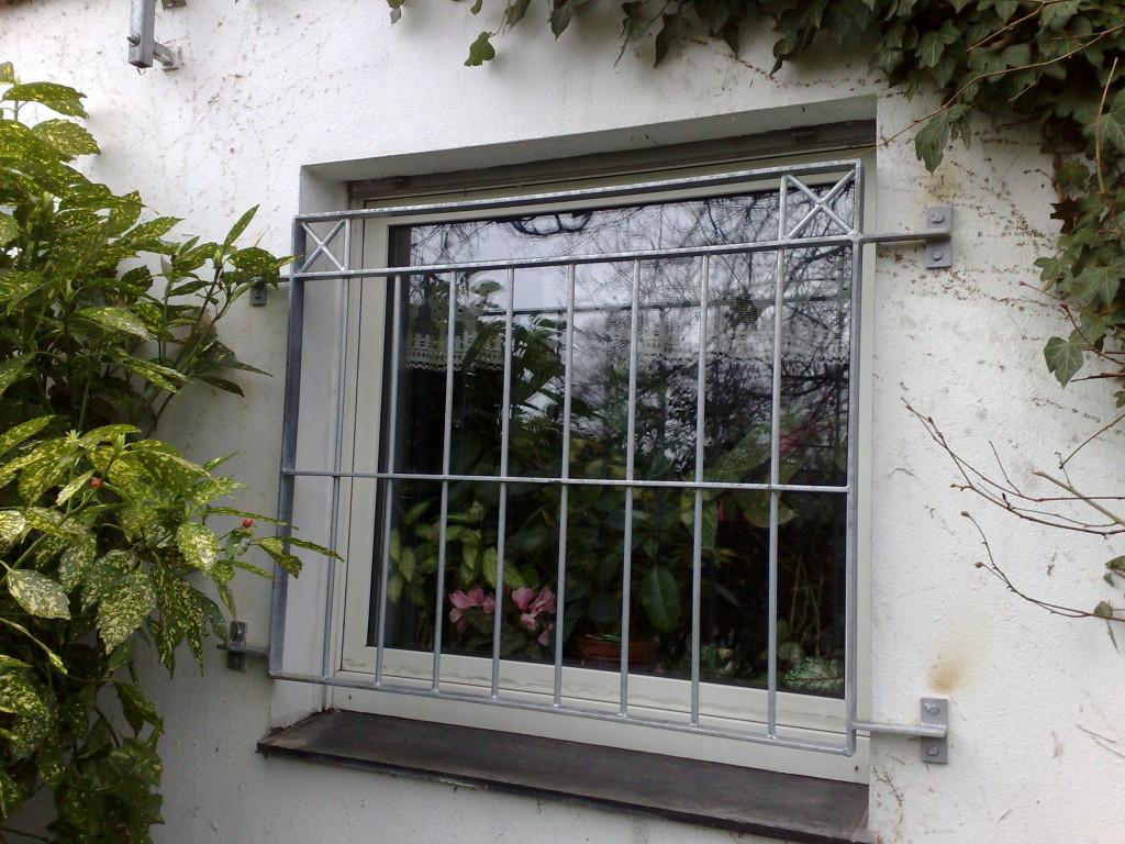 Verzinkte Fenstergitter 2