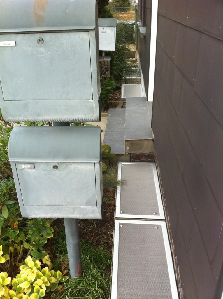 Licht- und Kellerschachtabdeckungen aus Edelstahl