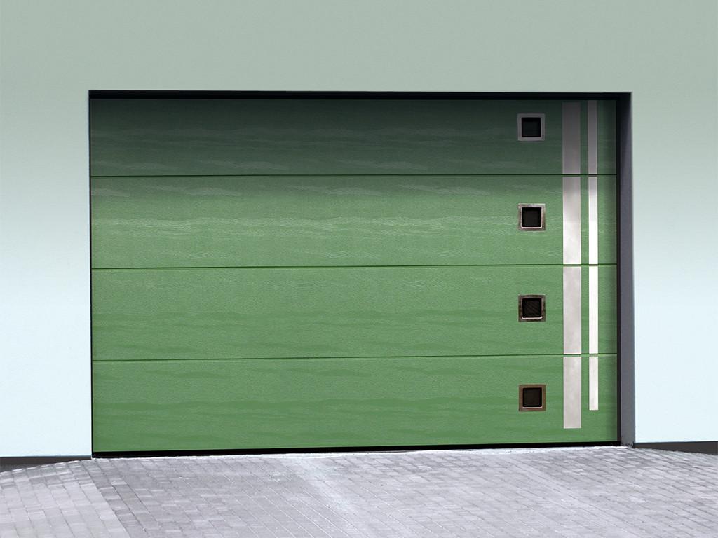 Ryterna Garagen-Sektionaltore mit Design