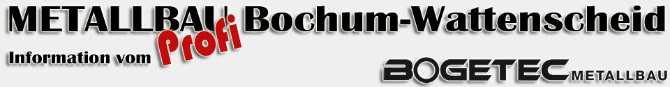 Metallbau Bochum Wattenscheid