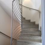 Design Edelstahlgeländer für die Treppe