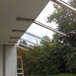 Vordach für die Terrasse